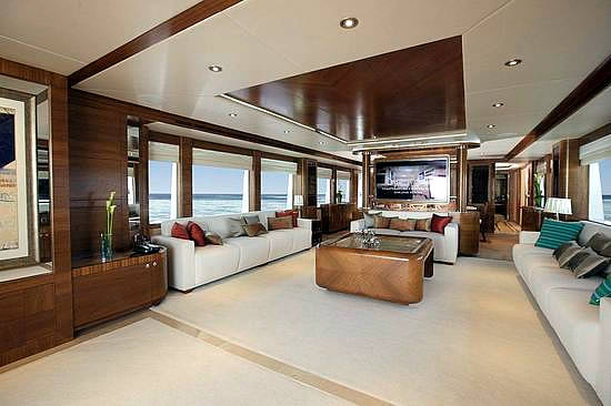 Majesty 105 Superyacht Pictures