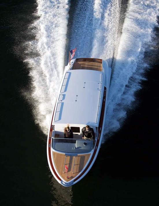 Hodgdon Yachts Hull 413 Limousine Tender Photos