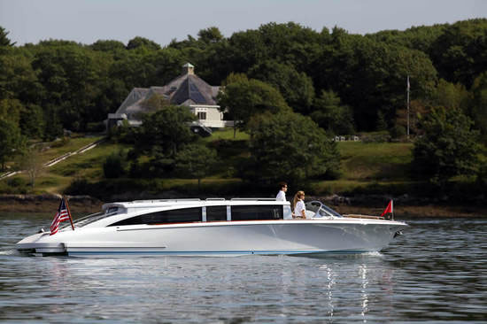 Hodgdon Yachts Hull 413 Limousine Tender Pics