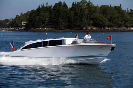 Hodgdon Yachts Hull 413 Limousine Tender Pictures