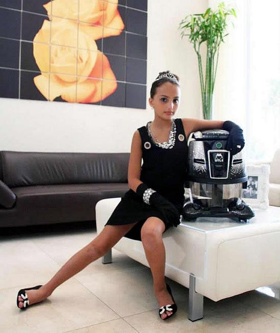 World Most Expensive Swarovski Encrusted HYLA GST Vacuum Cleaner