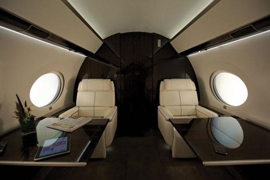 Gulfstream G650 Private Jet Photos