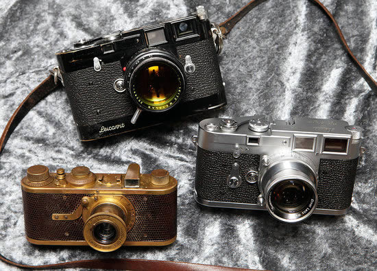 Three Most Expensive Leica Cameras Produced in a Series