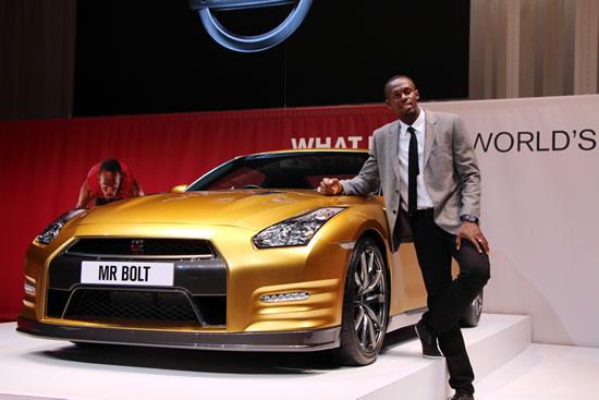 Nissan Gold Gt r for Bolt