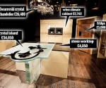 Worlds Most Expensive Kitchen is worth 1.6 Million