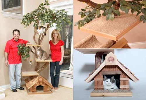 Mature Tree house from Pet Tree Houses