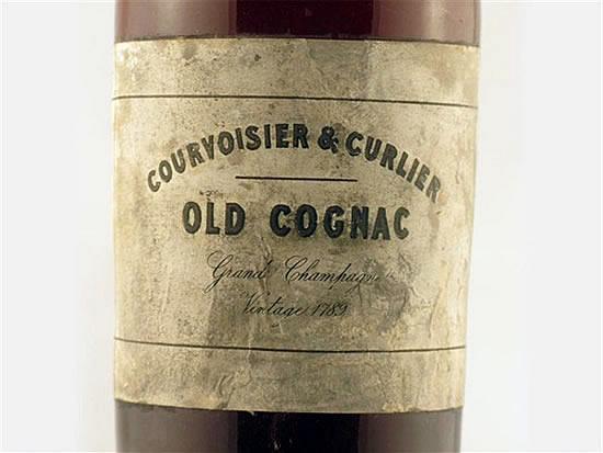 Worlds Most Oldest Known Courvoisier Cognac