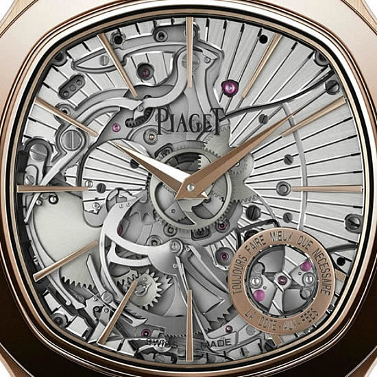 World Thinnest Minute Repeater Movement Watch