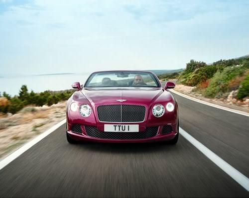 Bentley Continental GT Speed Convertible Car Photos