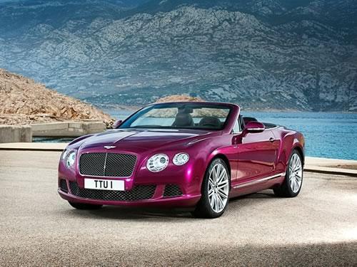 Bentley Continental GT Speed Convertible Car Pics