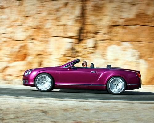 Bentley Continental GT Speed Convertible Car Pictures
