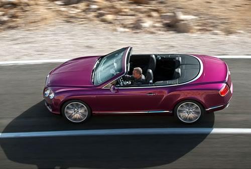 Bentley Continental GT Speed Convertible Car