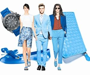 Electrifying Blue Trend for Spring Summer 2013