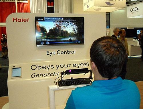 Haier Eye-Controlled TV