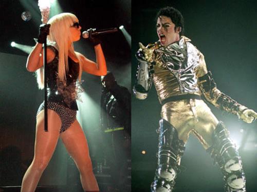 Lady Gaga and Michael Jackson