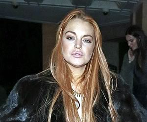 Lindsay Lohan Paid Party in London