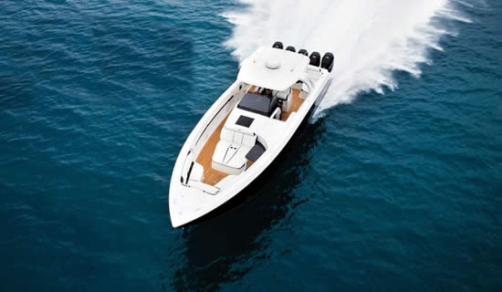Cigarette Racing and AMG Yacht