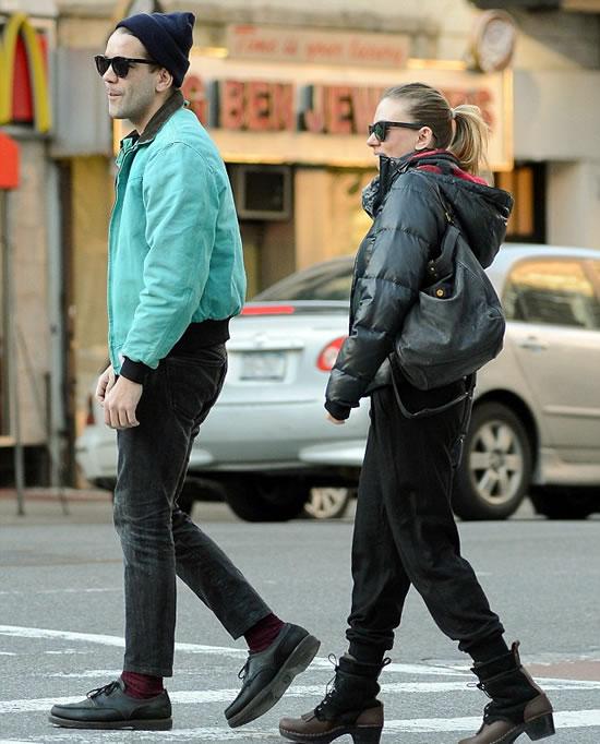Scarlett with Boyfriend