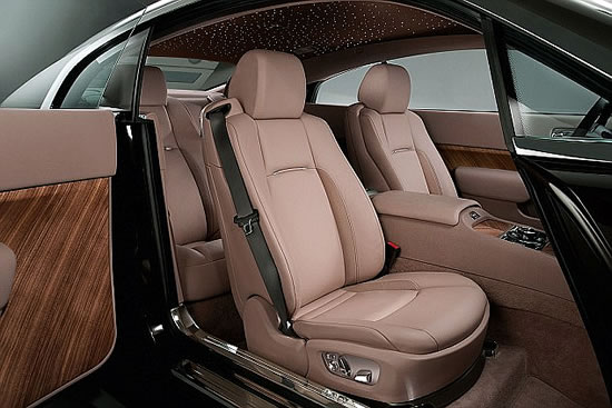 Rolls-Royce Wraith Picture Gallery
