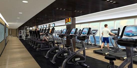 Royal Princess Fitness Center