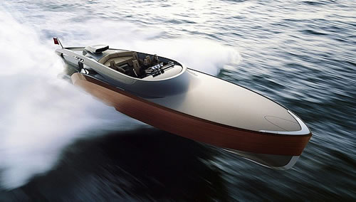 Claydon Reeves Debuts Rolls Royce-Powered Aeroboat Inspired by the Spitfire