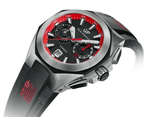 Girard-Perregaux Chrono Hawk Mens Watch