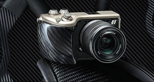 Hasselblad Lunar carbon fibre and titanium camera