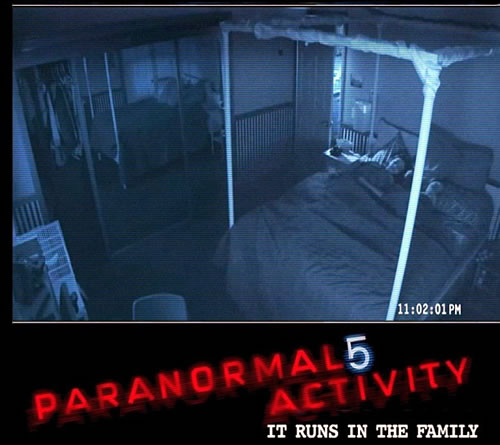 Paranormal Activity 5 2013