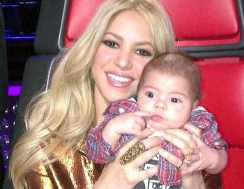 Shakira Gushes Over Son