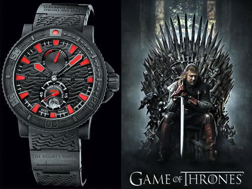 Ulysse Nardin HBO collaborates Game of Thrones watch