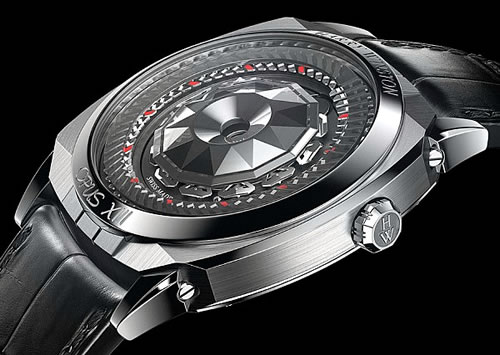 Harry Winston Opus XIII Watch Projects a Non-conventional Twist