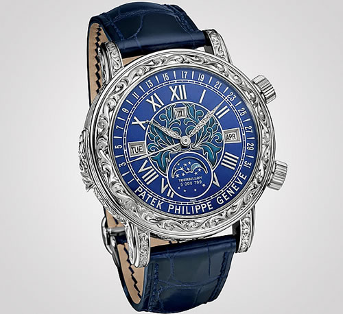 Patek Philippe Sky Moon Tourbillon Most complicated Wristwatch