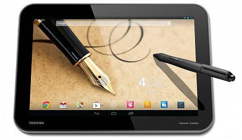 Toshiba New High-resolution Tablets