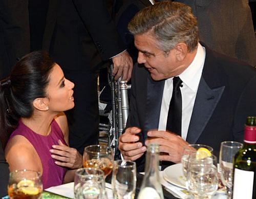 George Clooney and Eva Longoria Pictures