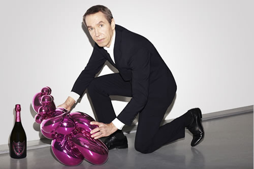 Jeff Koons Rose Champagne Gallery