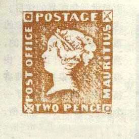 Post Office Mauritius Stamp