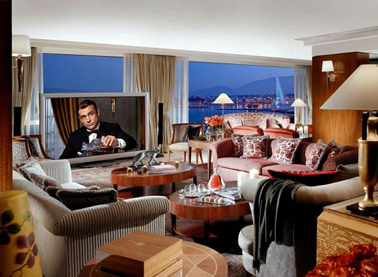 President Wilson hotels Royal Penthouse Suite