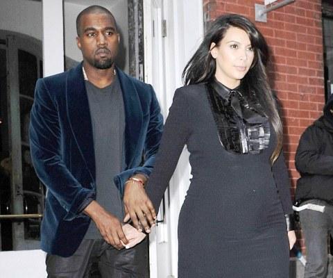 Kim Kardashian and Kanye West Dating Image