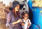 Kourtney Kardashian with cute son