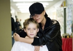 Victoria Beckham Keen with Sons