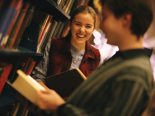 Visit the Library Dating image
