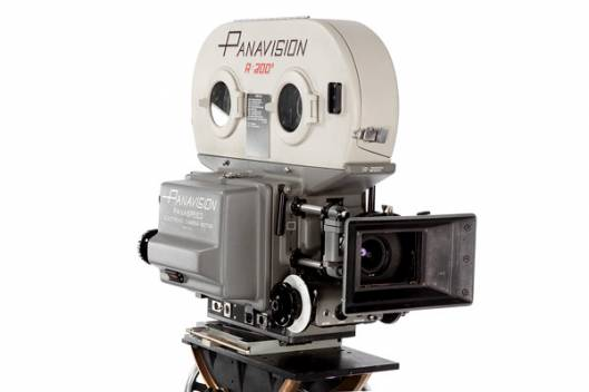 Vintage Hollywood Camera Image