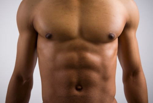 man muscle abs workout