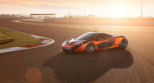 Stunning McLaren car