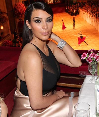 Kim Kardashian date pic