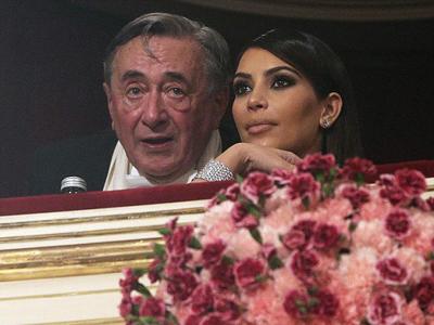 Richard raised and Kim Kardashian date