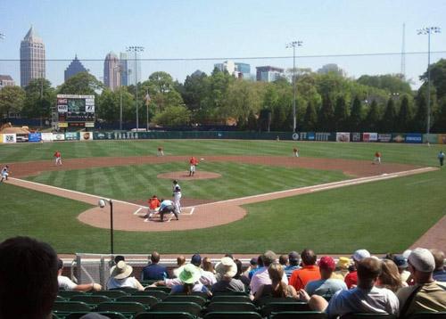 Tech Baseball match