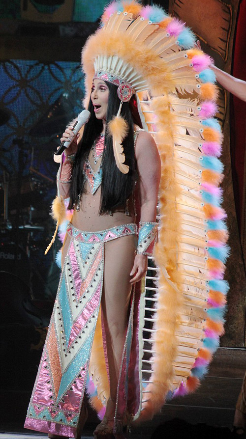 Cher stuns music