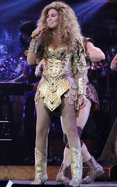 Cher stuns