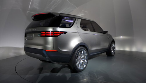 land rover discovery vision car